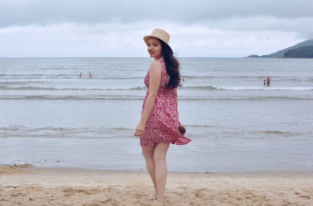 Look Vestido na Praia
