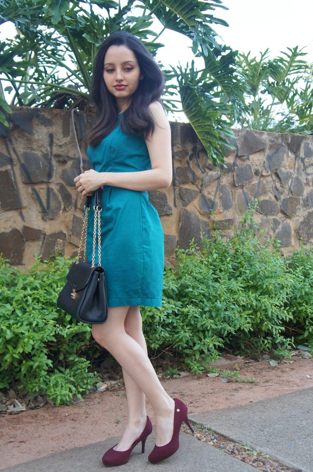Vestido Verde Social