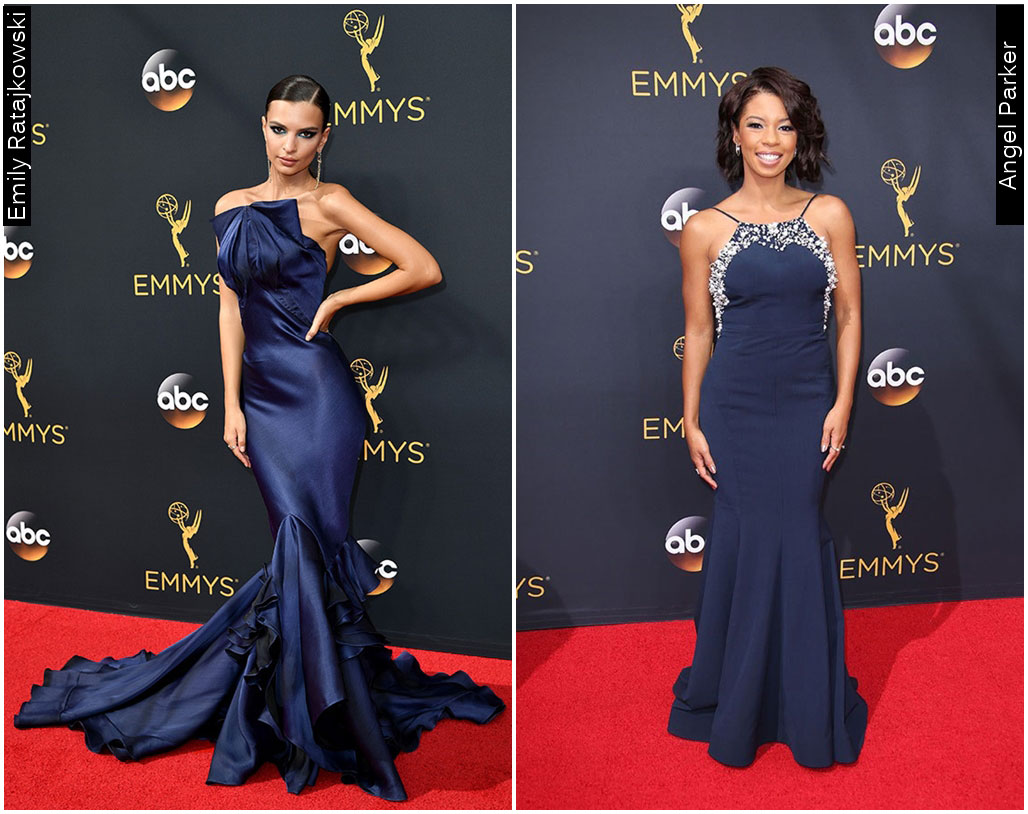 Red Carpet Emmys 2016 Emily Ratajkowski Angel Parker