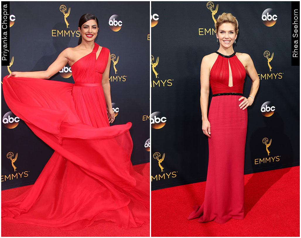 Red Carpet Emmys 2016 Rhea Seehorn Priyanka Chopra