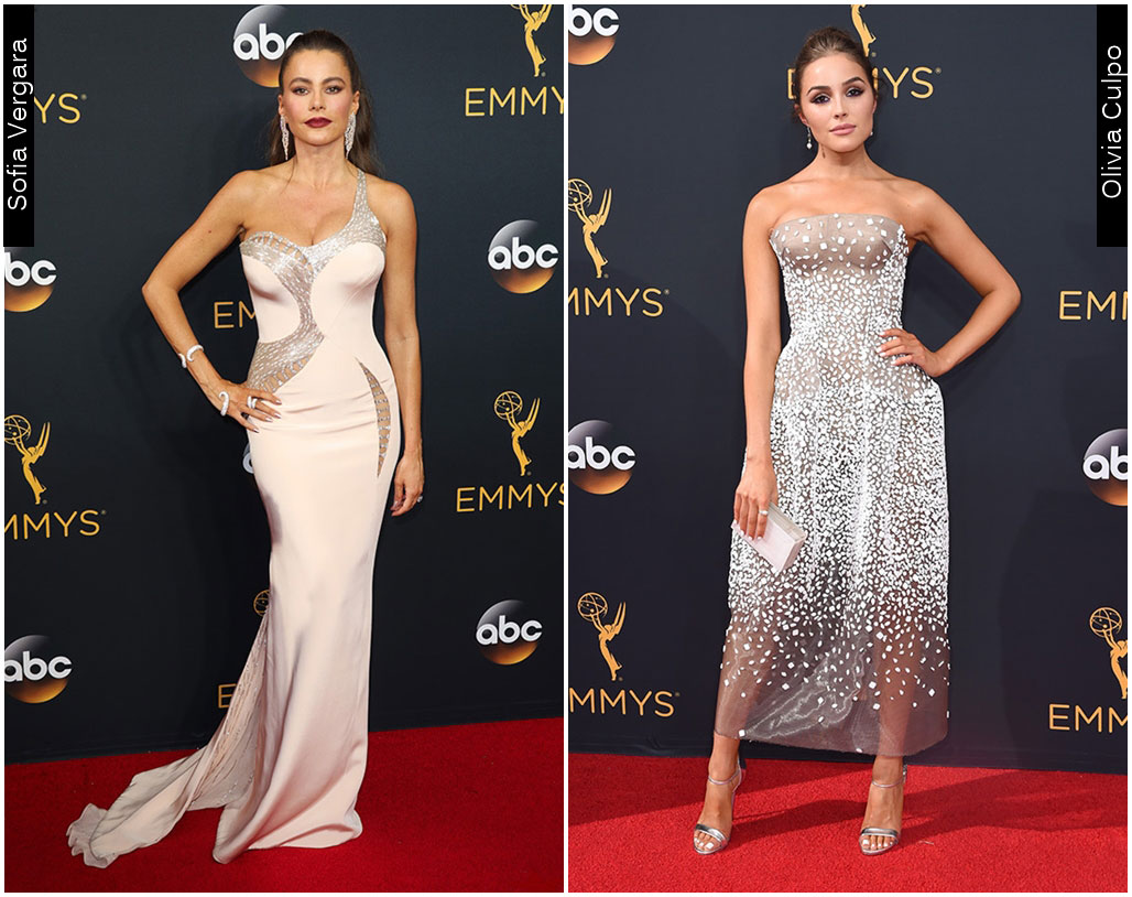 Red Carpet Emmys 2016 Sofia Vergara Olivia Culpo