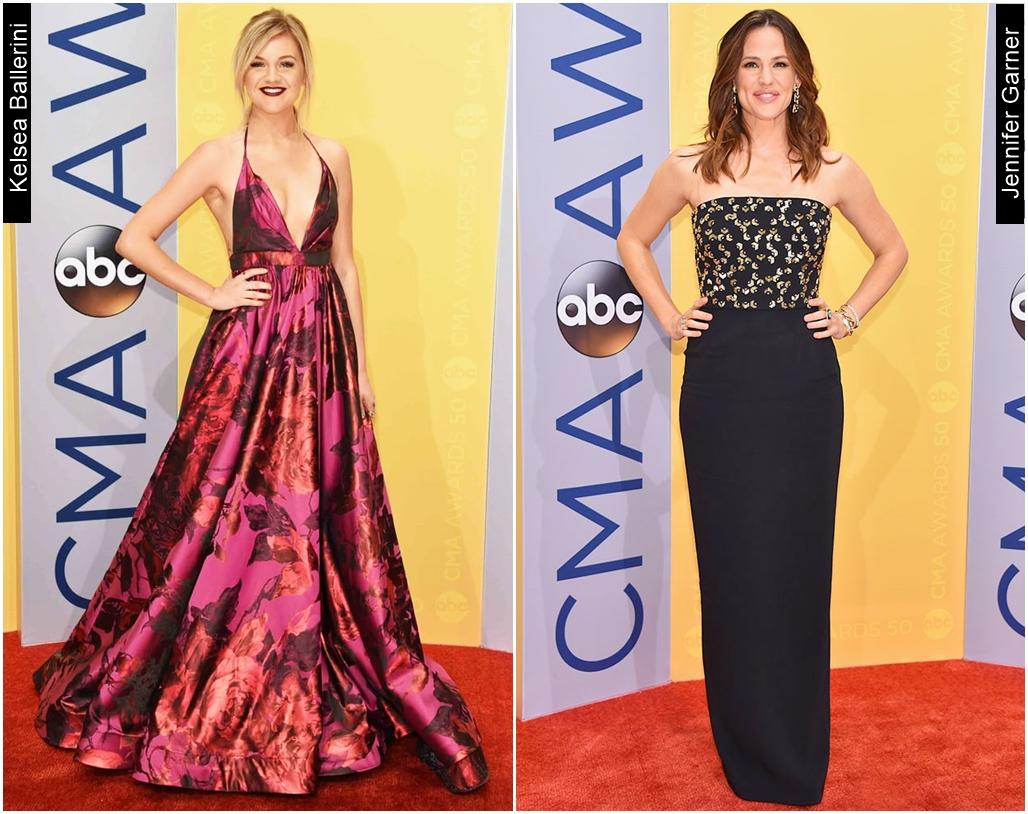 CMA Awards 2016 Kelsea Ballerini e Jennifer Garner