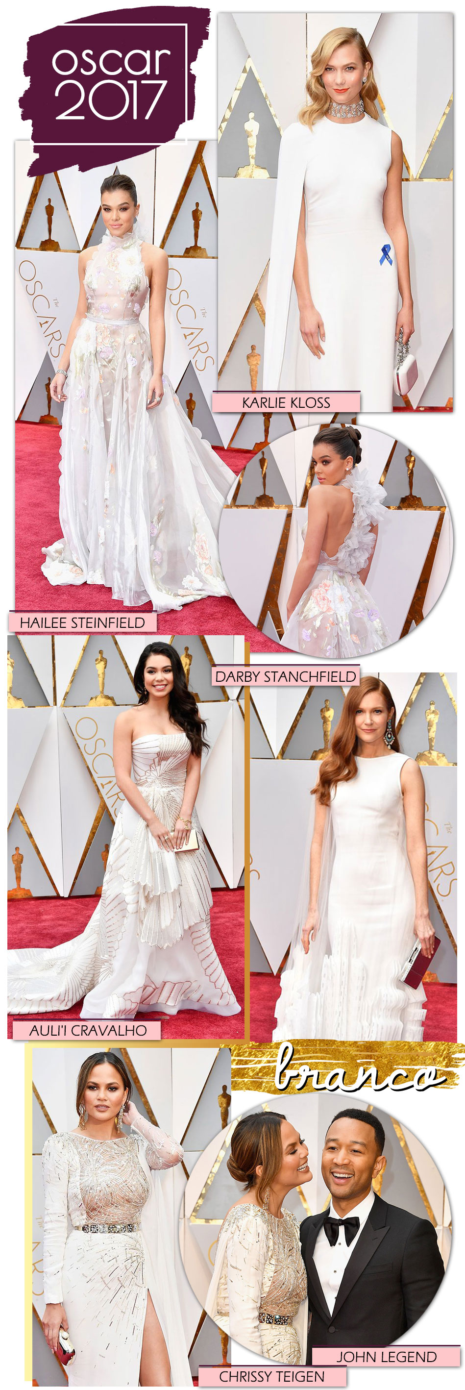 Red Carpet Vestidos Brancos
