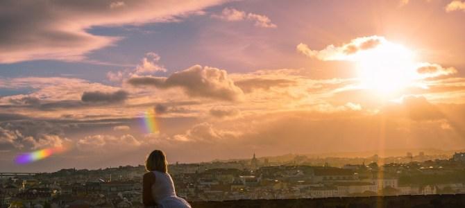 Castelo de São Jorge e seu incrível Pôr do Sol