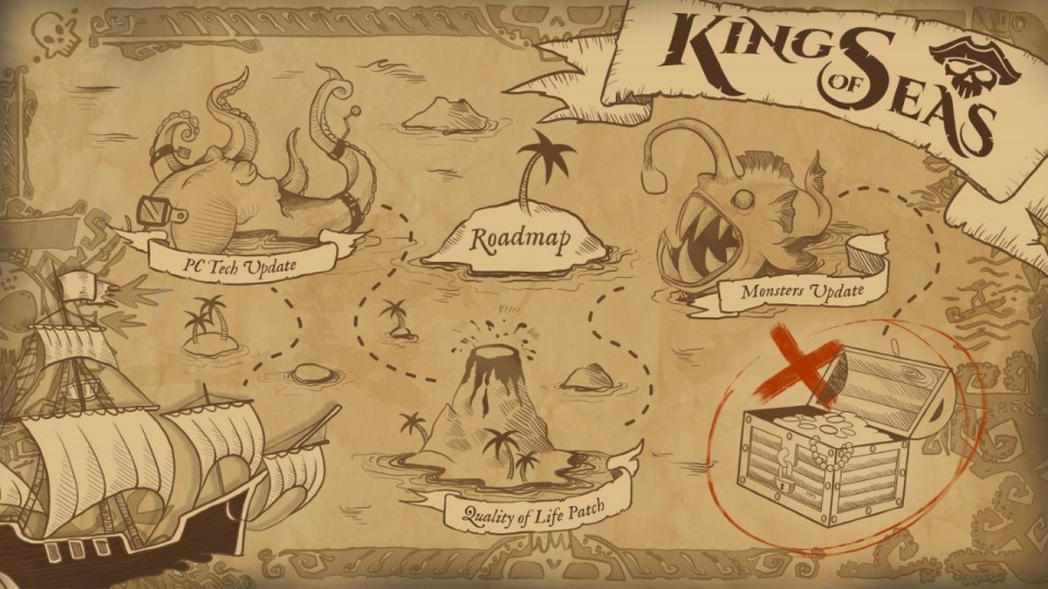 """Hoje é o seu dia de se tornar o Rei dos Mares… """"King of Seas"""" já está  disponível! // Mundo Drix"""