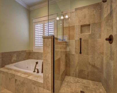 mármol para baño
