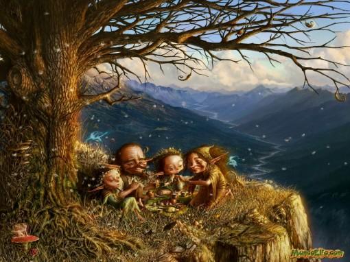 Apariencia de los Elfos nórdicos