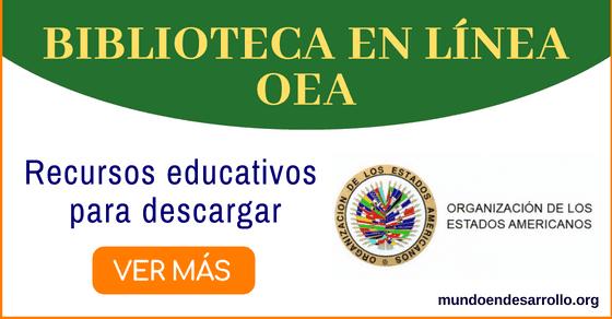 Biblioteca en línea de la OEA