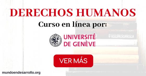 Curso online gratis sobre Derechos Humanos