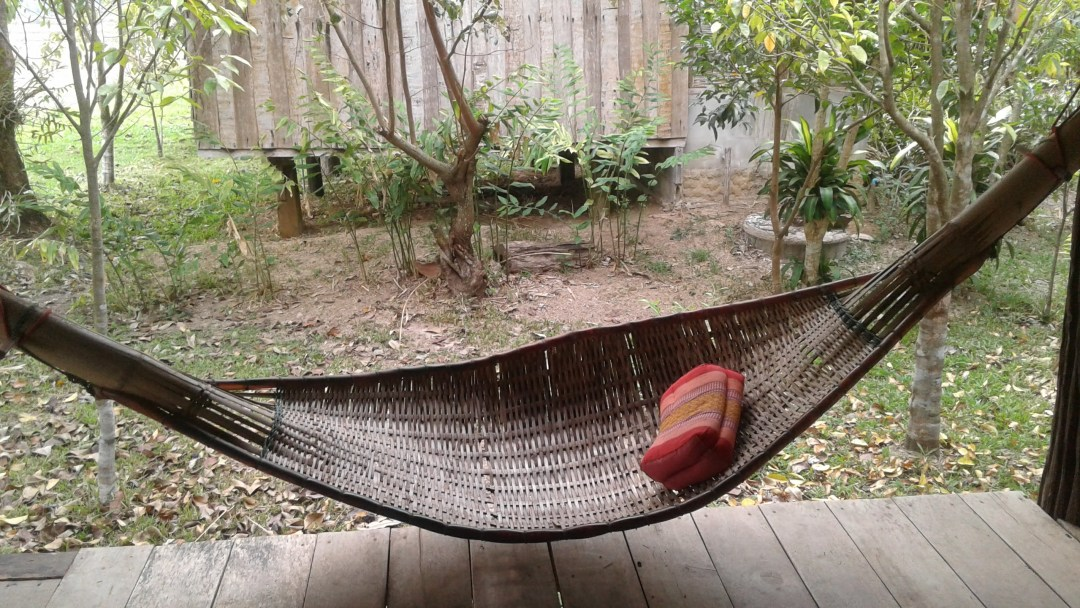 hammock at homestay thailand