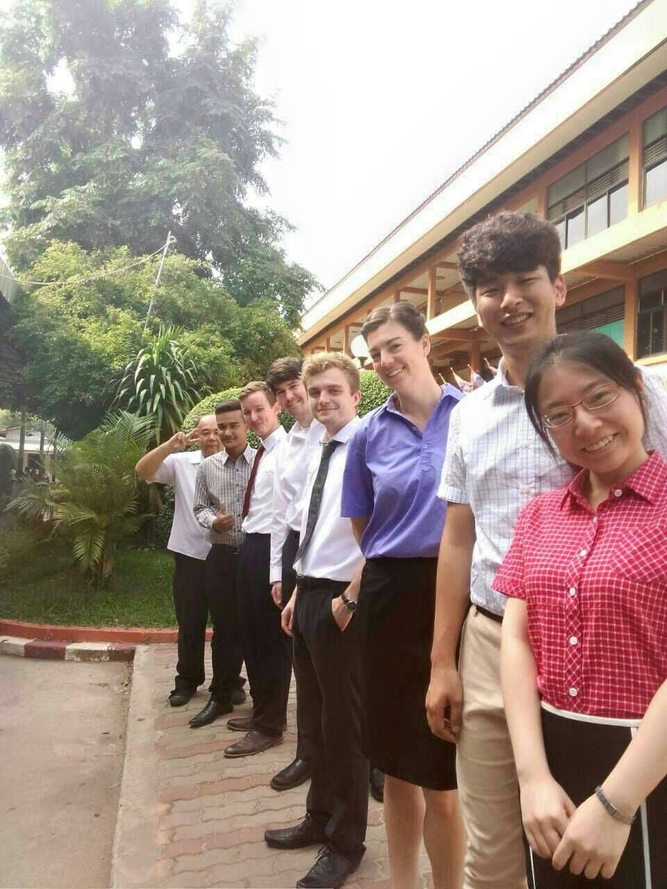 foreign teachers Thailand professional attire