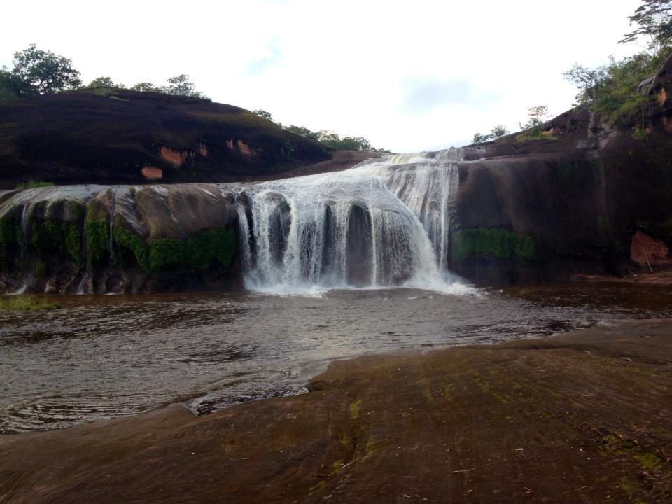 shot of waterfall
