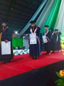 scholarship student marta graduation