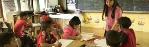 volunteer teaching Thailand home
