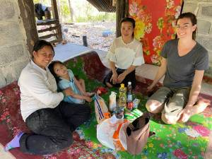family in poverty care packages