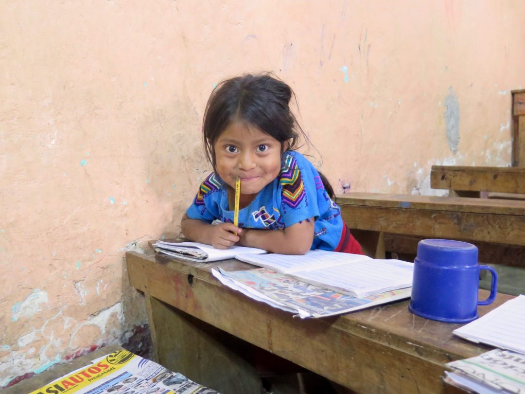 educational Center student young girl
