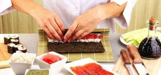 curso de culinária japonesa