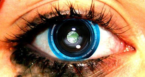 O olho como uma câmera