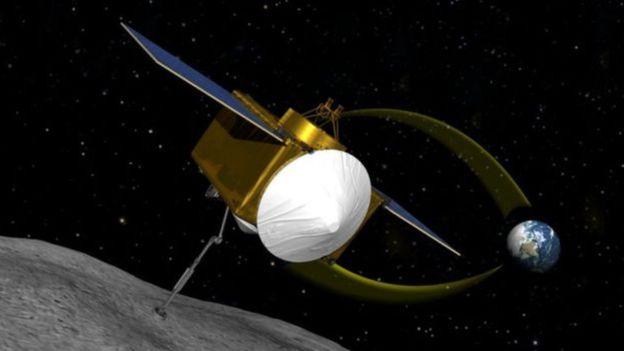 Sonda enviada a asteroide vai estudar superfície de 'asteroide morte' Fonte: NASA