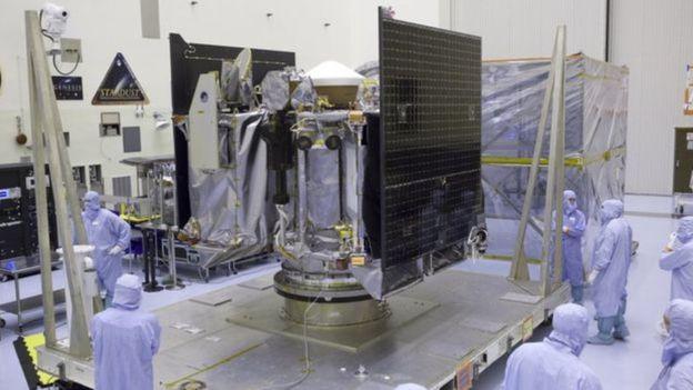 Cientistas da Nasa desenvolvem sonda que será enviada para asteroide Fonte: NASA