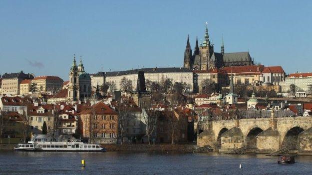 Na imagem, a capital Praga (República Checa)