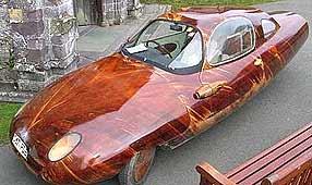 Carro de mogno