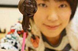 Transforme seu rosto em chocolate