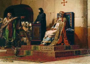 Foto gump do dia: O julgamento do Papa morto