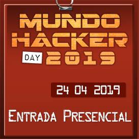 Entrada Mundo hacker Day 2019 presencial