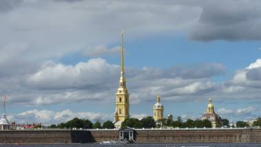 Fortaleza de São Pedro e São Paulo São Petersburgo Rússia Mundo Indefinido