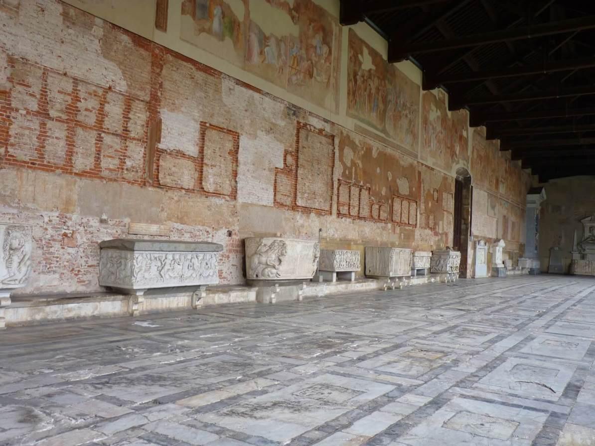 Camposanto Campas Pisa Itália 04 Mundo Indefinido