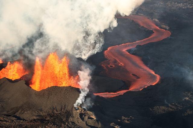Uma erupção que mudou o mundo