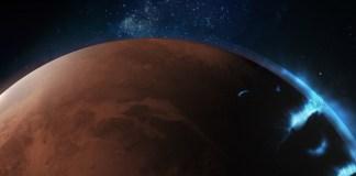 Sonda Hope fotografa imagens únicas de aurora em Marte