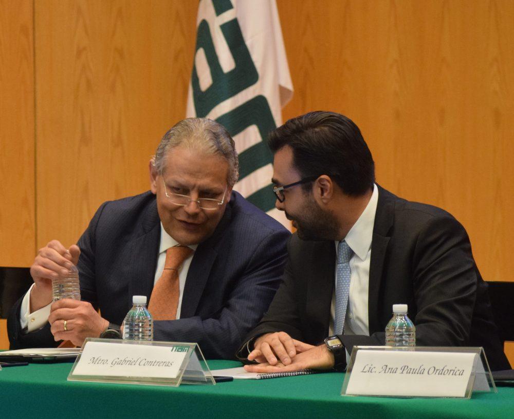 Luis Robles Miaja, Gabriel Contreras, Seminario Perspectivas Económicas ITAM 2017
