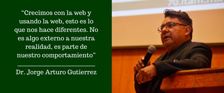 Dr. Jorge Arturo Gutiérrez Díaz. FOTO: ITAM