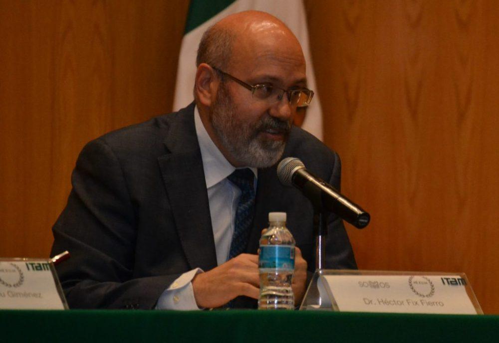 Dr Héctor Fix-Fierro, investigador titular del Instituto de Investigaciones Jurídicas de la UNAM. FOTO: ITAM