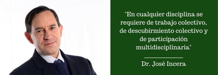 Dr. José Incera. FOTO: ITAM