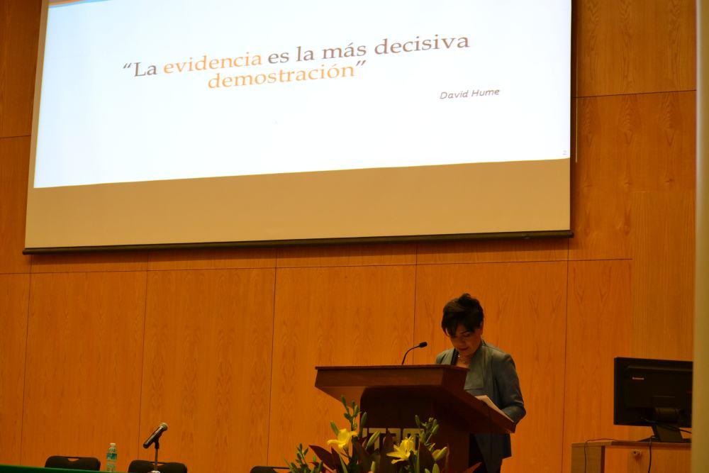 Mtra. Irene Espinosa Cantellano. FOTO: ITAM