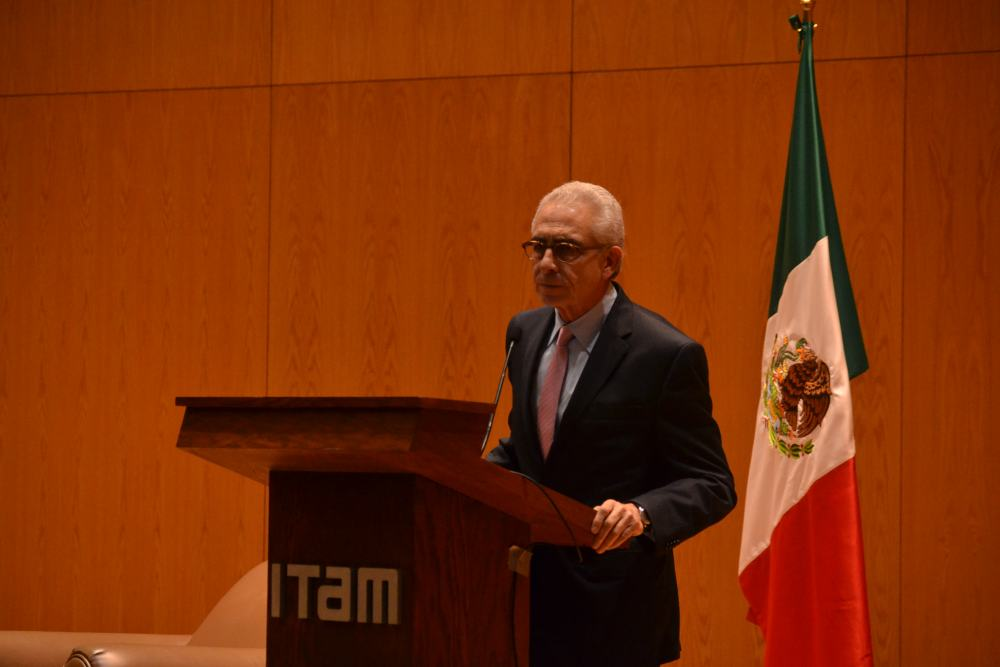 Dr. Ernesto Zedillo. FOTO: ITAM
