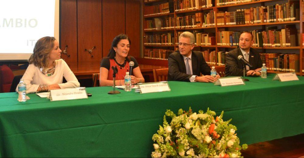 Presentación de la Beca Alonso Lujambio. FOTO: ITAM
