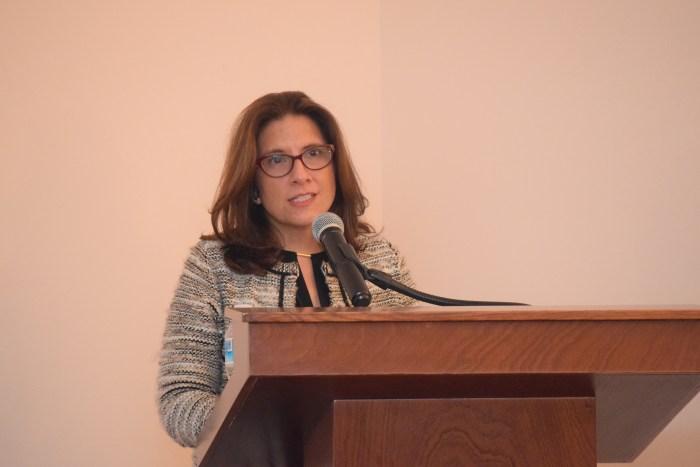 Dra. Cecilia Ortiz, directora de la Licenciatura en Administración.