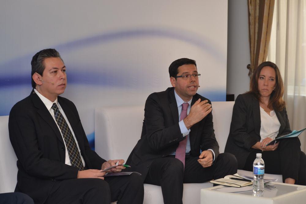 Panel de emprendimiento en un ambiente de trabajo versatil. FOTO: ITAM