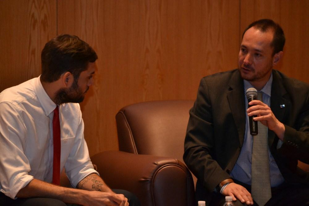 Juan Carlos Requesens Martínez, Dr. Horacio Vives. FOTO: ITAM.