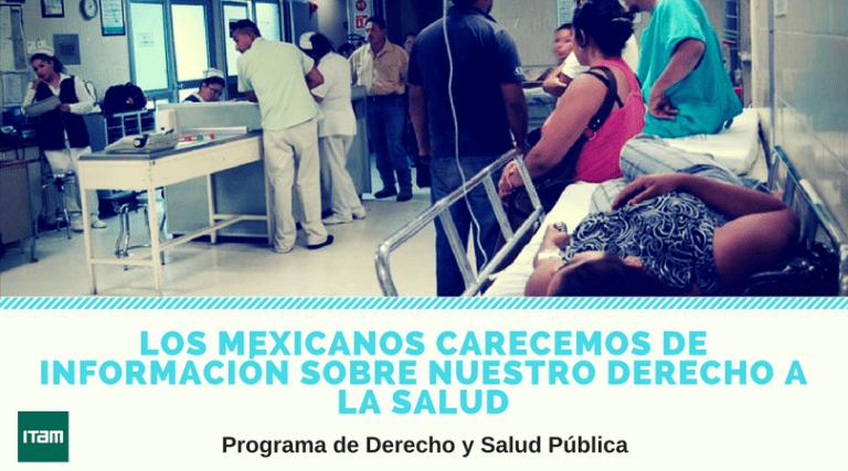 Derecho y salud pública en México