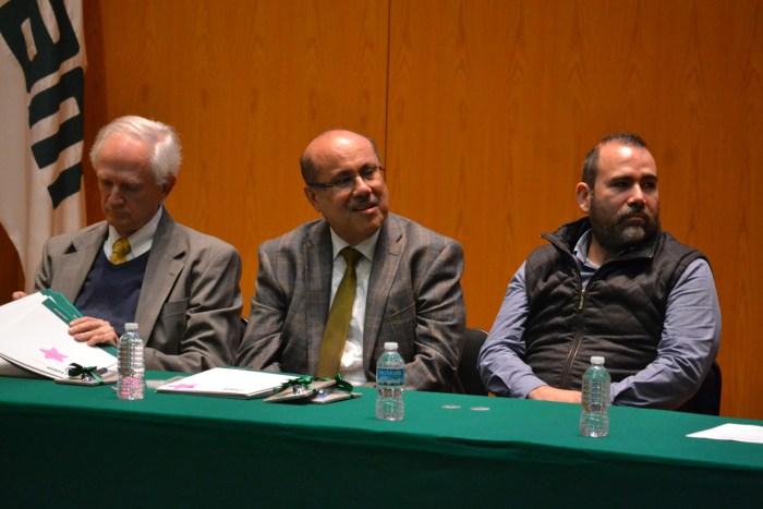 Dr. Miguel de Lascurain, Dr. Alejandro Terán, Dr. Pablo Vidales