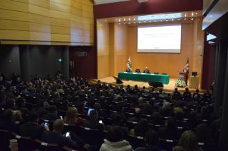 El público en el auditorio Raúl Baillères.