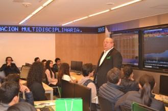 Pablo Galván en Sala Bloomberg