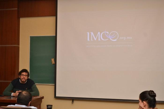 Saúl Rodríguez González, representante del IMCO