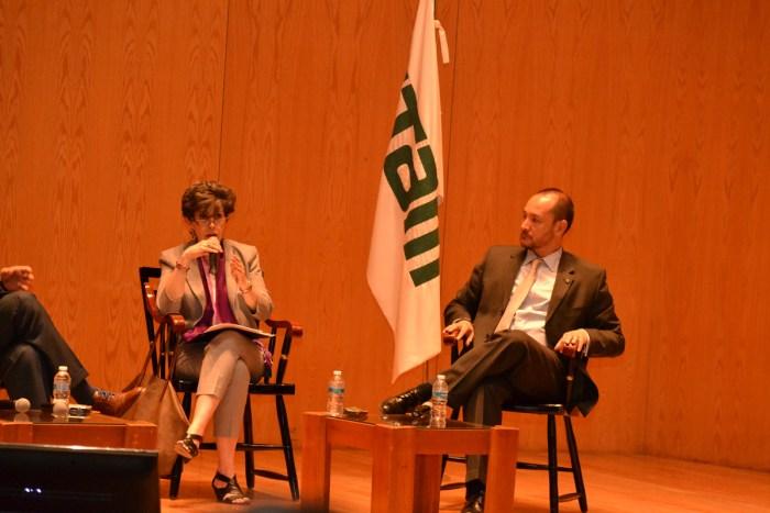 Janine Otalora y Horacio Vives