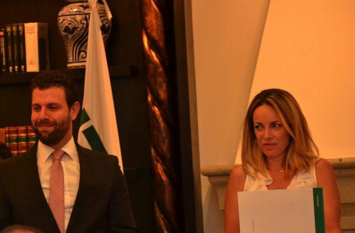 Jesús Edgar Braham y Alejandra Peralta